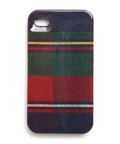 Perfectly Plaid Fall phone Case.