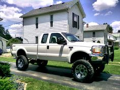 Every country girl has a thing for big trucks <3