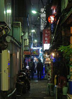 夜散歩のススメ「平和小路」東京都品川区