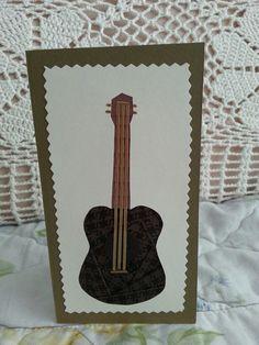 iris folding ukulele