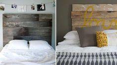 Tête de lit palette