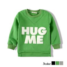 Kids T-shirt with lovely words hug me for girls and boys $25.99