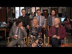 """Stars Of """"The Normal Heart"""" Full Interview Larry Kramer, Matt Bomer Simon Halls, Matt Bomer White Collar, The Normal Heart, Long Awaited, Greenwich Village, Julia Roberts, Gay Men, A Decade"""