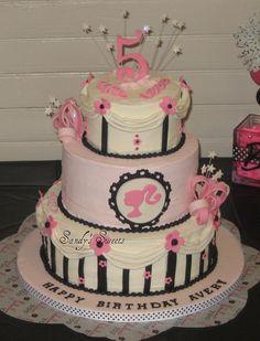 Barbie Birthday Cake