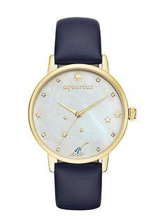 aquarius zodiac metro watch, aquarius