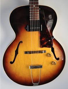 1958 Gibson ES 125T Vintage Sunburst Brazilian Archtop Electric Guitar