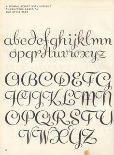 vintage script alphabet ~ Script Lettering M. Meijer ~ a formal script with upright characters based on old style text Script Alphabet, Hand Lettering Alphabet, Script Lettering, Calligraphy Letters, Typography Letters, Brush Lettering, Caligraphy, Hand Lettering Exemplars, Old Script Font