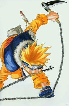 Naruto Uzumaki ArtBook 1 - 070