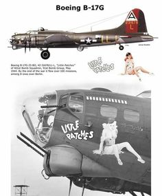 """B-17G """"Little Patches"""""""