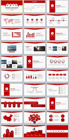 30+ Red creative business report PowerPoint template on Behance #powerpoint #templates #presentation #animation #backgrounds #pptwork.com #annual #report #business #company #design #creative #slide #infographic #chart #themes #ppt #pptx #slideshow