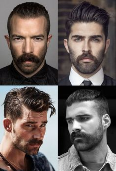 5 Beard Styles You Need To Know In 2019 FashionBeans men facial hair styles images - Hair Style Image Goatee Styles, Beard Styles For Men, Hair And Beard Styles, Facial Hair Styles, Handlebar Mustache, Beard No Mustache, Hair Style Image Man, Mens Facial, Black Men Beards