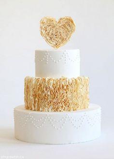 30 Pasteles de Bodas para el Día de San Valentín - Bodas