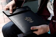 Superior Labor Leather iPad Case | Hypebeast