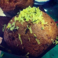 Lemon Rosemary and Honey Muffins ..... Reduced fat, reduces sugar  !