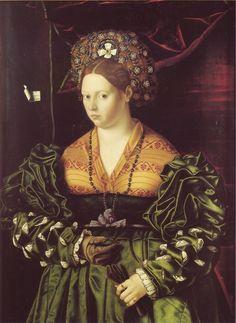 Ritratto Di Gentildonna by Bartolomeo Veneto, date missing (16th century) Italy, the Timken Art Gallery