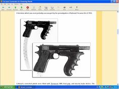 Full auto conversion for Colt 1911 - downloadable at HLebooks.com