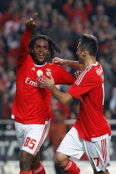 Renato Sanches e Jonas