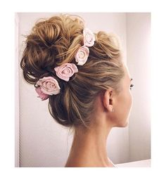 Perfect fancy hair