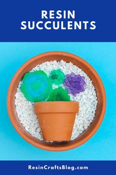 No need for a green thumb - create resin succulents with EasyCast Clear Casting Epoxy for beautiful plants that will never die! Diy Resin Projects, Cool Diy Projects, Resin Crafts, Acrylic Pouring Art, Acrylic Art, Do It Yourself Organization, Fun Projects For Kids, Color Crafts, Homemade Crafts