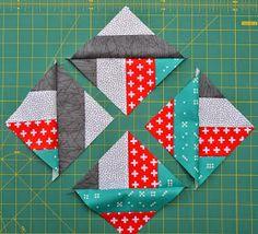 Hohenbrunner Quilterin: Schneller Jelly Roll Quilt Quilt Block Patterns, Pattern Blocks, Quilt Blocks, Quilt Modernen, Mug Rugs, Quilts, Blanket, Crafts, Internet