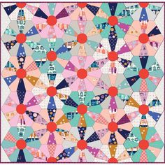 Free Quilt Pattern | Cotton and Steel | Kimberly Knight | Fun Fair Quilt