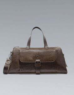 BOWLING BAG WITH BUCKLE - Bags - Man - ZARA United States