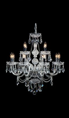 French Provincial Iron Chandelier- 8 Arm - Wrought Iron Finish ...