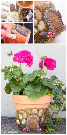 Magical DIY Fairy House Planter