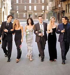 FRIENDS, best tv show ever.