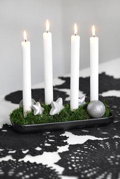 en la mesa de navidad