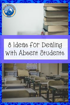 We all have absent students and dealing with missing work takes a system.  Here are some options I have used and my current method for dealing with all those missin students and their work.