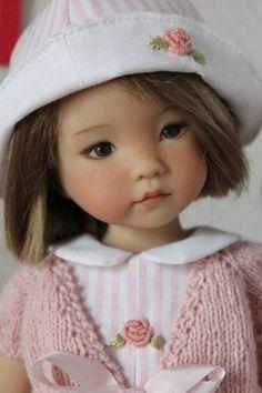 poupée réaliste, poupées art de collection -  Little Darling by Diane Effner