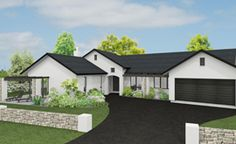 Karaka 4 bedroom home design Landmark Homes builders NZ