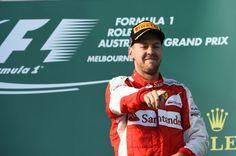 Sebastian Vettel (GER) Ferrari t Formula One World Championship, Rd1, Australian Grand Prix, Race, Albert Park, Melbourne, Australia, Sunday 15 March 2015. © Sutton Motorsport Images