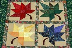 Autumn Barn Quilt Pattern