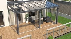 Pergola For Small Backyard Outdoor Pergola, Outdoor Rooms, Outdoor Living, Covered Back Patio, Gazebos, Patio Canopy, Marquise, House Extensions, Glass House