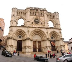 Cuenca cathedral, where my characters in both 1939 and 2009 find themselves at a wedding.