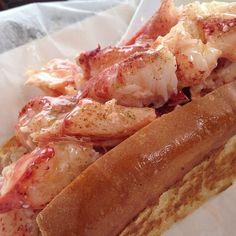 Bite Into Maine, Cape Elizabeth, Maine Cape Elizabeth, White Meat, Seafood Dishes, Hot Dog Buns, Nom Nom, Maine, Restaurants, Rolls, Buns