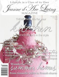 Jeanne d' Arc Living Magazine July
