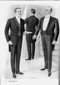 Anonymous said: Do you know what kind of clothes did butlers from XIX century wear? How old should a man be to become a butler those times? Did butlers graduate some special schools to gain a title of. Edwardian Era, Victorian Era, Victorian Fashion, 1930s Fashion, Fashion Men, Fashion Design, Belle Epoque, Butler Outfit, Challenges