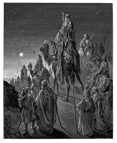 3. The Wise Men Guided by the Star (Gustave Doré)