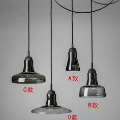 2015 New Pendant Light Minimalist Art Glass Chandelier / Bedroom Living Room Restaurant Bar Coffee Hall Fashion Lamp Lighting