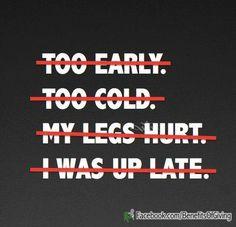 motivation, running