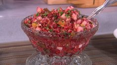 Fresh Cranberry Salsa #Thanksgiving recipes Home Cooked for the Holidays: Susan Feniger - The Talk - CBS.com This is really good!!!!