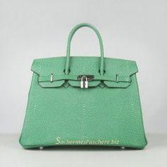Sacs Hermès Pas Cher Birkin 35cm Ostrich Veins Sac Violet 6089 ... 2368a0e4435