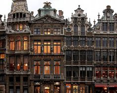 the grand place / brussels