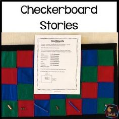Montessori Checkerboard Stories, these stories help students put numbers into context! Montessori Color, Montessori Science, Montessori Elementary, Montessori Materials, Elementary Math, Measurement Activities, Math Measurement, Math Activities