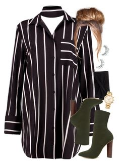 8:28 by mcmlxxi on Polyvore featuring polyvore fashion style Boohoo Steve Madden Reiss Michael Kors Unicorn Lashes clothing