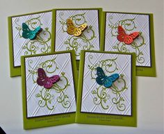 Butterfly cards by StampinforHISglory - Cards and Paper Crafts at Splitcoaststampers