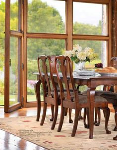 Show Off Your Elegant Side With A Beautiful Classic Stickley Dining Room  Set From West Coast